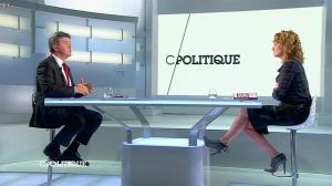 Caroline Roux dans C Politique - 13/04/14 - 34