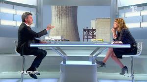 Caroline Roux dans C Politique - 13/04/14 - 38