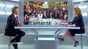 Caroline Roux dans C Politique - 13/04/14 - 40