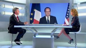 Caroline Roux dans C Politique - 13/04/14 - 41