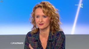 Caroline Roux dans C Politique - 13/04/14 - 46