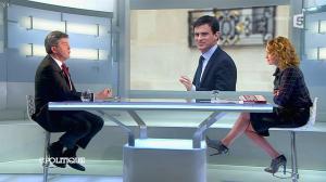 Caroline Roux dans C Politique - 13/04/14 - 47