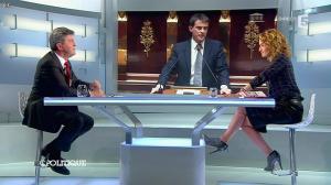 Caroline Roux dans C Politique - 13/04/14 - 49