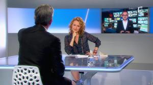 Caroline Roux dans C Politique - 13/04/14 - 51