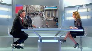 Caroline Roux dans C Politique - 13/04/14 - 54