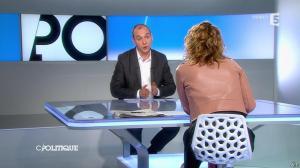 Caroline Roux dans C Politique - 16/03/14 - 08