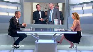 Caroline Roux dans C Politique - 16/03/14 - 10