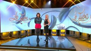 Daphné Burki et Laurence Ferrari dans le Tube - 22/03/14 - 01