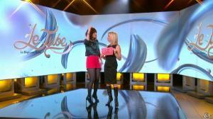 Daphné Burki et Laurence Ferrari dans le Tube - 22/03/14 - 03