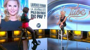 Daphné Burki et Laurence Ferrari dans le Tube - 22/03/14 - 23