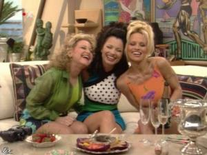 Fran Drescher et Pamela Anderson dans Die Nanny - 05/08/09 - 02
