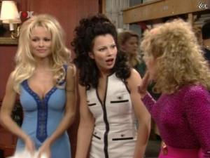 Fran Drescher et Pamela Anderson dans Die Nanny - 05/08/09 - 11