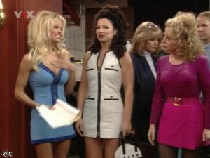 Fran Drescher et Pamela Anderson dans Die Nanny - 05/08/09 - 12