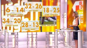Isabelle Ithurburu dans Jour de Rugby - 16/09/12 - 19