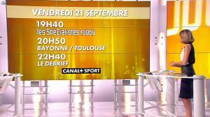 Isabelle Ithurburu dans Jour de Rugby - 16/09/12 - 25