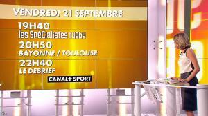 Isabelle Ithurburu dans Jour de Rugby - 16/09/12 - 26