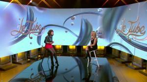 Laurence Ferrari et Daphné Burki dans le Tube - 22/03/14 - 01
