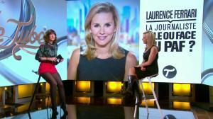 Laurence Ferrari et Daphné Burki dans le Tube - 22/03/14 - 06