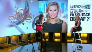 Laurence Ferrari et Daphné Burki dans le Tube - 22/03/14 - 22