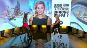 Laurence Ferrari et Daphné Burki dans le Tube - 22/03/14 - 41