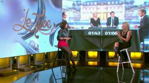 Laurence Ferrari et Daphné Burki dans le Tube - 22/03/14 - 68