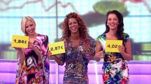 Les Gafettes, Fanny Veyrac, Doris Rouesne et Nadia Aydanne dans le Juste Prix - 27/09/13 - 10