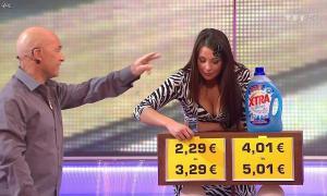 Fanny Veyrac dans le Juste Prix - 12/01/11 - 02