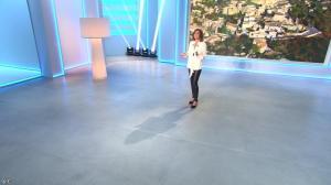 Sandrine Quétier lors du Tirage du Loto - 16/06/14 - 01