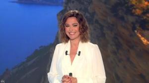 Sandrine Quétier lors du Tirage du Loto - 16/06/14 - 02