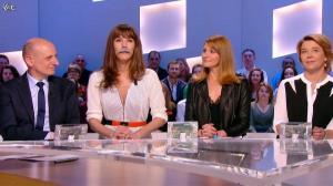 Valérie Amarou et Doria Tillier dans le Grand Journal de Canal Plus - 04/03/14 - 06