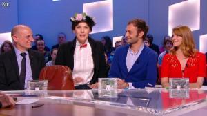 Valérie Amarou dans le Grand Journal de Canal Plus - 06/03/14 - 02