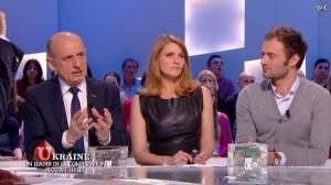Valérie Amarou dans le Grand Journal de Canal Plus - 07/03/14 - 07