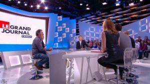 Valérie Amarou dans le Grand Journal de Canal Plus - 07/03/14 - 09