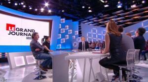 Valérie Amarou dans le Grand Journal de Canal Plus - 07/03/14 - 11
