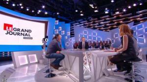 Valérie Amarou dans le Grand Journal de Canal Plus - 07/03/14 - 13