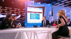 Valérie Amarou dans le Grand Journal de Canal Plus - 19/02/14 - 06