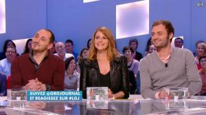 Valérie Amarou dans le Grand Journal de Canal Plus - 21/02/14 - 02