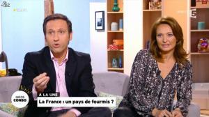 Valérie Durier dans la Quotidienne - 28/01/14 - 02