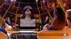 Alessandra Sublet et Diane Ducret dans un Soir à la Tour Eiffel - 11/02/15 - 06