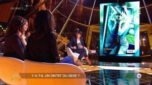 Alessandra Sublet dans Un Soir à la Tour Eiffel - 11/02/15 - 07
