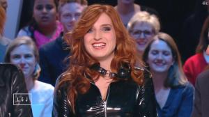 Alison Wheeler dans le Grand Journal de Canal Plus - 03/03/15 - 02
