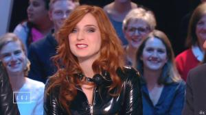 Alison Wheeler dans le Grand Journal de Canal Plus - 03/03/15 - 03