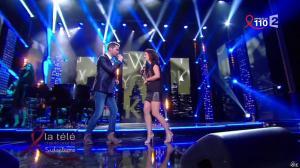 Estelle Denis dans la télé Chante pour le Sidaction - 28/03/15 - 07
