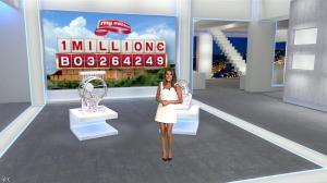 Karine Ferri dans Euro Millions - 03/07/15 - 03