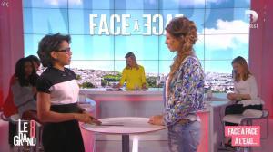 Laurence Ferrari, Hapsatou Sy, Audrey Pulvar et Laury Thilleman dans le Grand 8 - 12/03/15 - 11