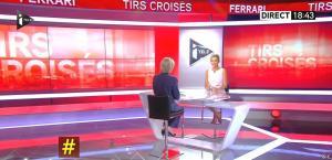 Laurence Ferrari dans Tirs Croisés - 04/06/15 - 04