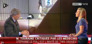 Laurence Ferrari dans Tirs Croises - 05/01/15 - 02