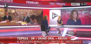 Laurence Ferrari dans Tirs Croises - 08/07/15 - 02