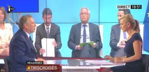 Laurence Ferrari dans Tirs Croisés - 10/06/15 - 03