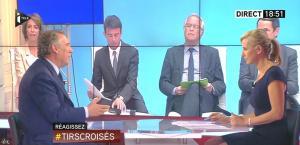 Laurence Ferrari dans Tirs Croisés - 10/06/15 - 04